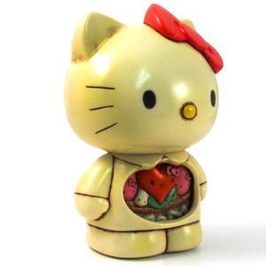 Hello Kitty guts