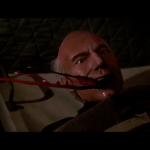 Picard spits blood